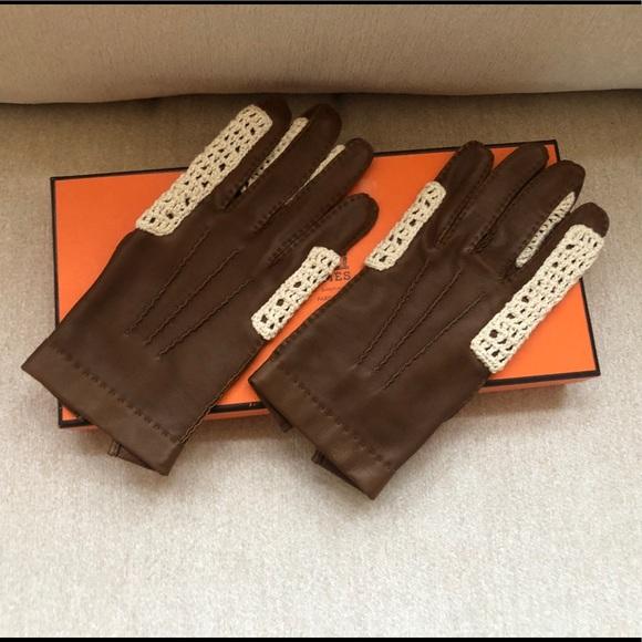 Hermès new in box SM Women's glove